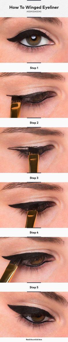 winged eyeliner #wingedlinerhowto