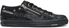Diesel - Black Expo-Zip Low Sneakers