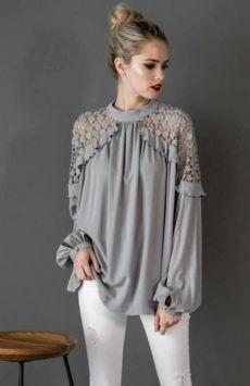 (381) Pinterest | для себя | Постила Look Fashion, Hijab Fashion, Fashion Dresses, Fashion Design, Fashion Trends, Fashion Ideas, Stylish Dresses, Blouse Styles, Blouse Designs