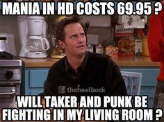 wwe undertaker funny | wrestlemania # cm punk # the undertaker # chandler