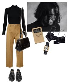"""mélancolie passé"" by eniramarine ❤ liked on Polyvore featuring Alaïa, Golden Goose, YMC, Fendi, Eres and Jayson Home"