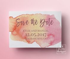 Save The Date Template Save The Date Printable Mint Save The