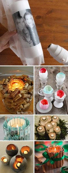 candle making business Cool DIY Candle Ideas and Tutorials 2017 Diy Candle Roses, Diy Candles, Homemade Soy Candles, Glue Gun Crafts, Candle Making Business, Candle Making Supplies, Candlemaking, Cool Diy, Decoration