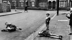 Summer 1954: Kids out of school wreak havoc on the streets of London