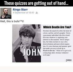 Oh Ringo...