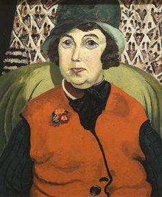 Portrait of Frances Hodgkins by Cedric Morris, Collection Auckland Art Gallery Auckland Art Gallery, F Pictures, Photos, New Zealand Art, Nz Art, Morris, Meet The Artist, France, Female Art