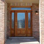 B200 wood door in Chicago