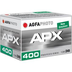 Agfa APX 400 Professional - $6.30