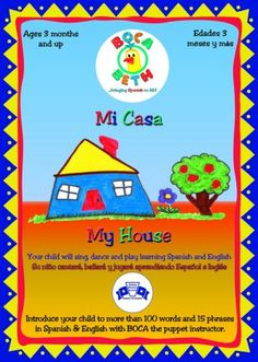 Mi Casa/My House bilingual education DVD