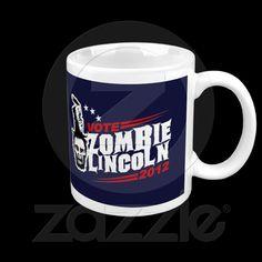 Zombie Lincoln 2012 Mug