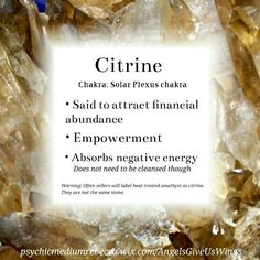Citrine crystal meaning