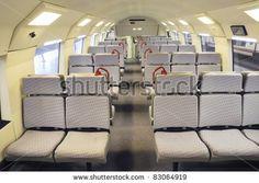 Modern train seats