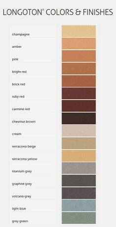 Image 20 of 20 from gallery of Terracotta Rainscreen Facade System - LONGOTON® Architecture Panel, Concept Architecture, Material Board, Green Colour Palette, Terracota, House On A Hill, Color Theory, Digital Image, Color Combos
