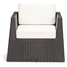 Modern Outdoor Patio Furniture | Contemporary Weather Resistant PVC... ($569) via Polyvore