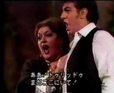 OPERA: Cavalleria Rusticana  SINGER: Domingo & Cossotto  DUETO: Ah! lo vedi  COMPOSER: Mascagni