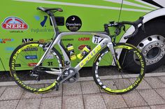 Filippo Pozzato's blinged out Giro d'Italia ride from Cipollini