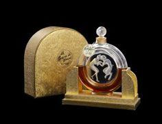 "1928 R. Lalique ""Molinard""  Perfume Bottle"