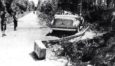 صورة الحادث الذي توفي فيه الملك غازي 1939