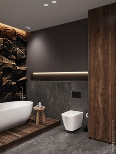 Ways To Get The Most Out Of Your Home Urban Industrial Decor The amount of home improvement resources available can be a bit overwhelming. Bathroom Design Luxury, Modern Bathroom, Small Bathroom, Bedroom Modern, Bathrooms, Interior Simple, Toilet Design, Urban Loft, Built In Storage