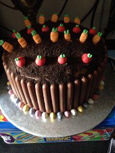 Veg patch cake