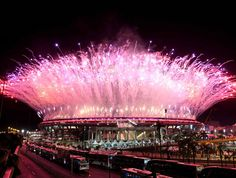 Retour en image sur le mythique stade Maracana brillant de mille feux, vendredi dernier, lors de l'ouverture officielle des J.O de Rio (Brésil).