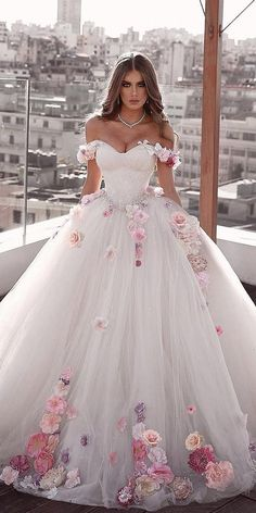 30 ball gown wedding dresses fit for a queen, . - 30 ball gown wedding dresses fit for a queen, … – dress # Bridal dresses - Wedding Dress Trends, Dream Wedding Dresses, Bridal Dresses, Ball Gown Wedding Dresses, Pink Wedding Gowns, Bridesmaid Dresses, Dress Prom, Dress Long, Homecoming Dresses