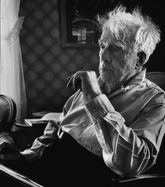 Robert Frost, Vermont 1955, by Alfred Eisenstaedt | Flickr - Photo Sharing!