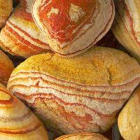 Галька мраморная, рейнбоу 10-20см, кг цены в магазине Ваш Сад