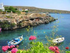 KYTHERA ISLAND AVLEMONA GREECE.