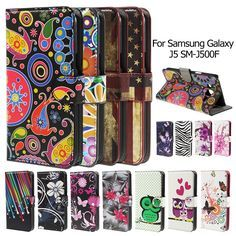 Case Cover For Galaxy J 5 SM-J500F Phone Cases Plum Blossom PU Leather Wallet Phone Shell for Samsung Galaxy J5 Mobile Phone Bag