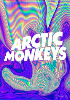 Arctic Monkeys poster….I need this