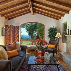 Moroccan Living Room Design, Pictures, Remodel, Decor and Ideas - page 12