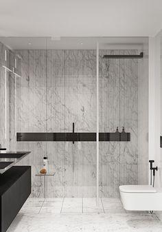 Washroom Design, Toilet Design, Architecture Board, Interior Architecture, Internal Design, Apartment Interior Design, Minimalism, New Homes, Adobe Photoshop