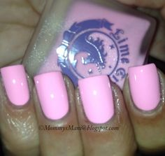 """Lime Crime """"Parfait Day"""". Got this at imats & it's still my favorite baby pink polish!"""