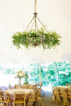 flower wedding chandelier - Google Search