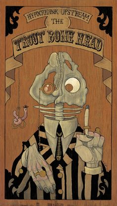 Trout Bone Head by Gris Grimly
