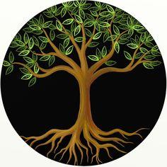Image detail for -Tree of Life Digital Art by Liora Hess - Tree of Life Fine Art. Image detail for Tree Of Life Images, Tree Of Life Artwork, Tree Tat, Bodhi Tree, Life Tattoos, Tatoos, Word Art, Textile Art, Fiber Art