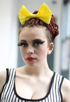Pretty Disturbia Yellow Bow Headband from Pretty Disturbia - £3.00  If you like it then you should've put a bow on it! Yes, clothes are a representation of our style, but our hair is the ULTIMATE representation of our style! Fashion up your do this summer with this beautiful summery bow, teamed with a tee and shorts, look summer fabulous!