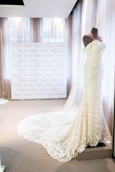 rani gown on display in our london flagship store atelier pronoviaswedding detailsbridal gownsnycwedding inspirationclothesbrides
