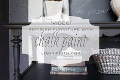 VIDEO: Refinishing Furniture with Chalk Paint®