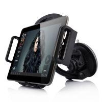 Universal holder til bilen m. sugekop til iPad/Samsung - sort