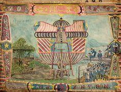 "Charles A. A. Dellschau (1830-1923) - ""Aeros"" 1899-1922 (lapetitemortgallery)"