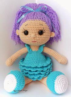 Куколка Анютка ##crochet ##toys ##amigurumi ##crochetdoll - Светлана Удальчикова - Google+