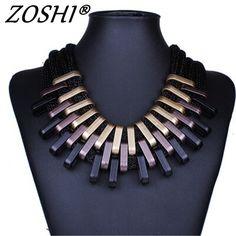 Punk Vintage Fashion Necklaces &Pendants Women Statement Necklace Gradient Drops Choker Maxi Colar //Price: $8.99 & FREE Shipping //     #hashtag4