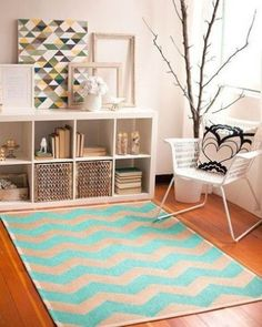 25 IKEA Expedit shelf for a living room - DigsDigs