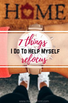 It's not easy to stay focused all the time, and even the best of us slip up. Here are 7 Things I do to help myself refocus. Fun Questions To Ask, This Or That Questions, Brain Dump, Make A Plan, Productive Day, Self Talk, Write To Me, Lists To Make, How To Wake Up Early