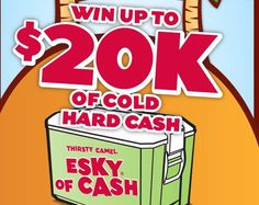 Win Up To $20,000 In Cash