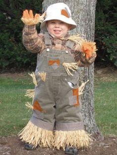 Scarecrow Homemade Toddler Halloween Costumes - Parenting.com