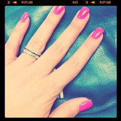 Gel Manicure-pink