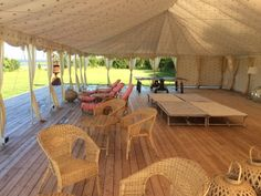 Love to relax in this Lounge Tent, Marquee Tent.